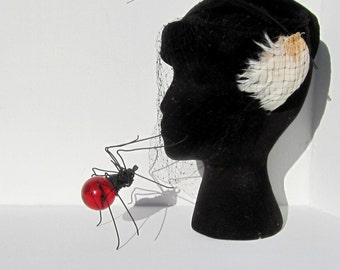 A Spidery Kiss From Single Red Spider  for Halloween