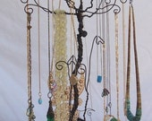 Wire Necklace Stand jewelry Tree Holder Metal Sculpture PRE ORDER