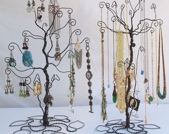 Wire Tree Stand Jewelry Display Holder set Earring Necklace PRE ORDER