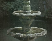 Fountain - St. John in the Wilderness Monastery - Fine Art Photograph by Around the Island Photography