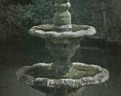 Psalm 36-9 - Custom Art - Image and Verse - Christian Art - Made to Order - St. John's Fountain