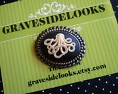 2 in 1 Squirley Octupus PENDANT and BROOCH
