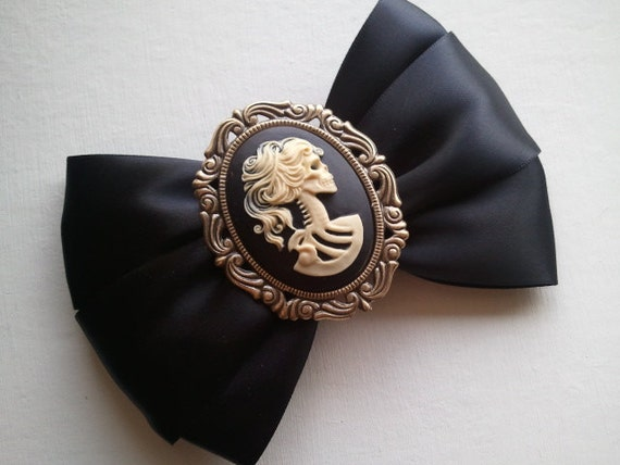 Day of the Dead Zombie Lolita BIG Hair Bow // Choose your Favorite