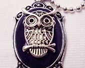 Beautiful Silver Owl Pendant