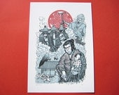 Shogun Assassin limited edition giclée print