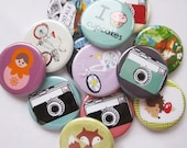 "Lot of 20 1.25"" pinback buttons Wholesale pin back buttons"