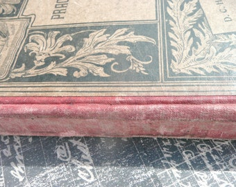 Antique Grammer Book, The Pratical Speller, 1897 by D.C. Heath and Co