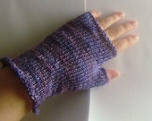 Hyacinth Fingerless Gloves