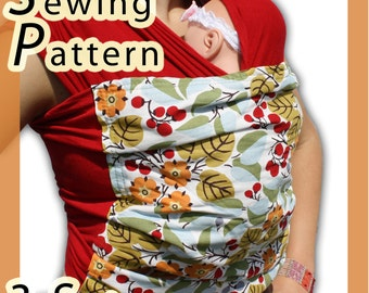 Baby Wrap Sling Sewing Pattern