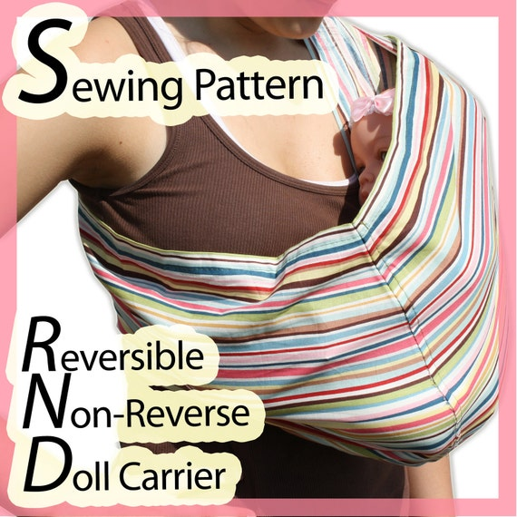 Sling Pattern - Carry your baby in style!