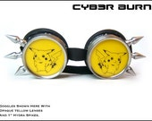 Pikachu Goggles with Spikes by Cyb3rburn