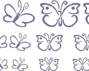 Butterflies Vinyl Wall Art