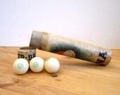 Vintage Tube of Ping Pong Balls 1930s
