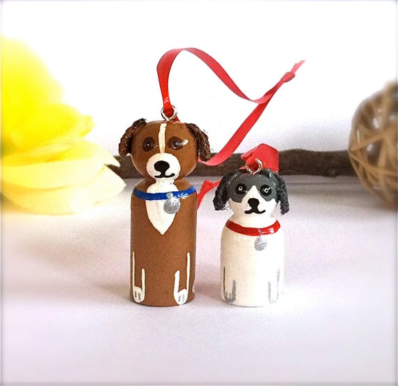 Items similar to Custom Pet Ornament or Pendant Dog Cat ...