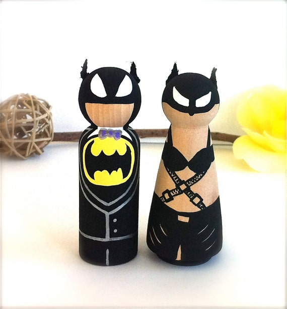 batman and batgirl wedding cake topper unavailable listing on etsy 11113