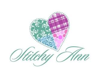 Shop Banner - Premade, Logo Design, - Includes, Heart logo Logo Design  - Includes Banners, Avatar, and more...