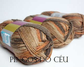 20% OFF - 5 units x Winter Tweed Orange Brown. Fall trends. Fall Fashion. Ready to ship.