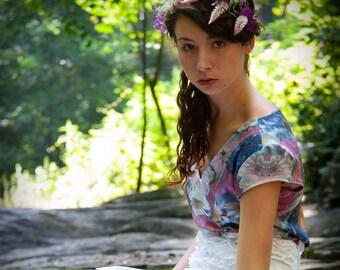 Ophelia Submerges Organic Cotton Top