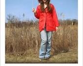Emaline Reversible Raincoat