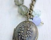 The Penelope -- A Vintage Inspired Locket
