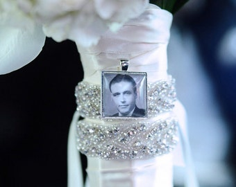 Bridal Bouquet Charm Wedding Bouquet Charm Bridal Charm Photo Memory Charm