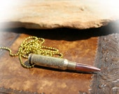 Bullet Necklace Pendant or Keychain, Etched 308 Caliber, We The People, Constitution, Preamble