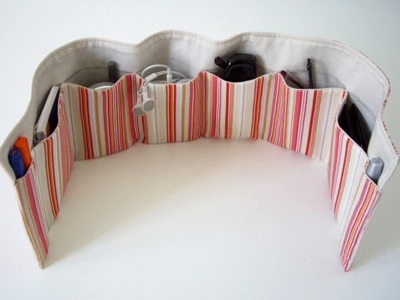Purse organizer insert (8 pockets)