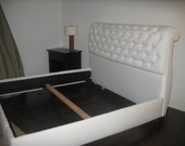 Rollback Tufted Bed