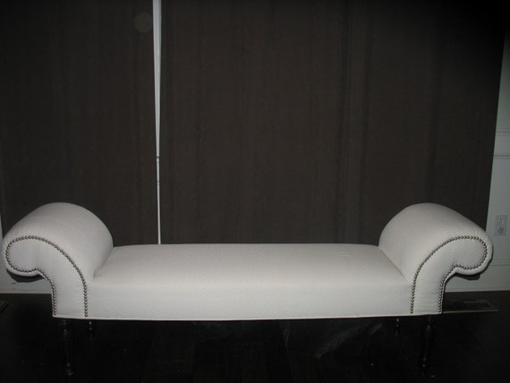 listing for Chantal - Custom Upholstered Bench with 98840 Fire Truck