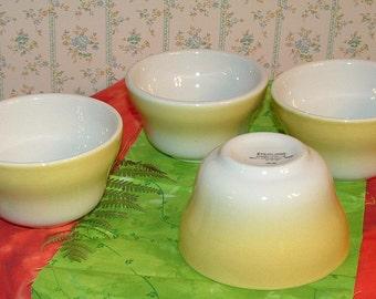 vintage Sterling china set of 4