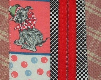 Zipper the Dog postcard