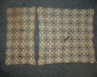 Estate Sale Crochet Lace Find