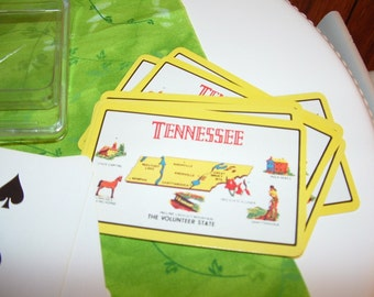 Tennessee Playing Cards