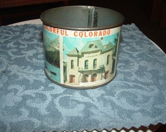 Colorful Colorado Tin Souvenir Cup