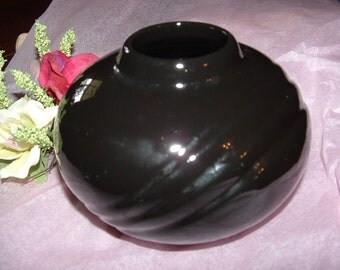 Your Basic Black Vase will go with anything