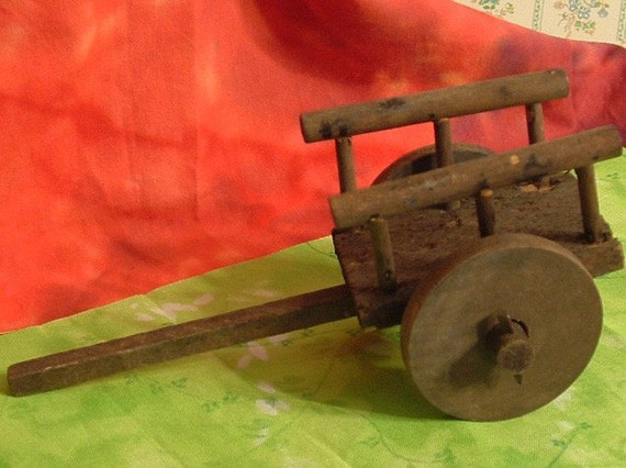 Small vintage Wooden Cart