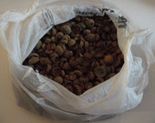 DESTASH, HUGE bag of acorn tops, all in excellent condition