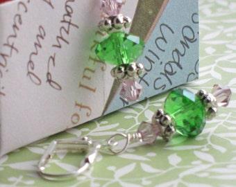 Spring Crystal Earrings