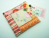 Fields of Pink - I Spy Bag - One of a kind design - Several coordinating fabrics - Hours of Fun - Word and Photo Card Included