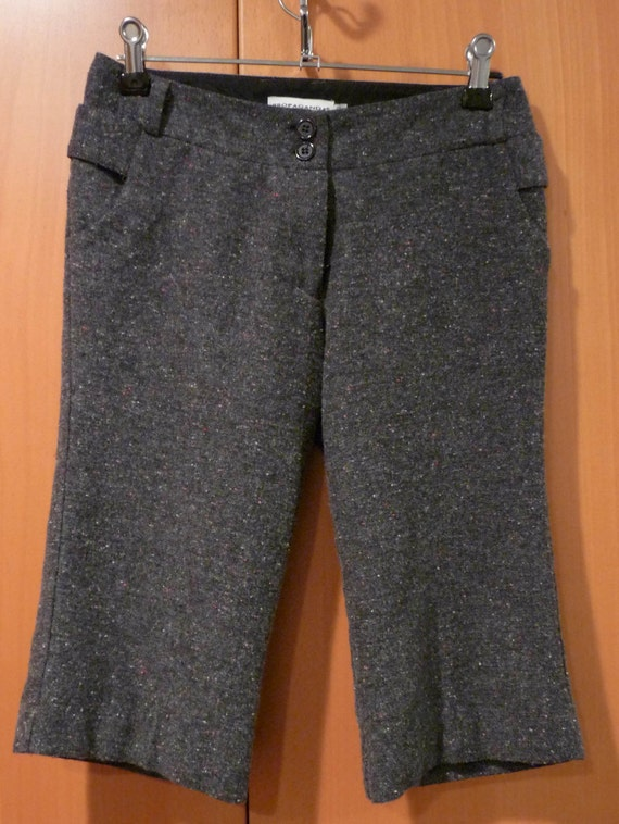 Vintage Classic tweed wool trousers, fully lined. New Vintage never been worn, been in warehouse storage.