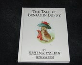 Vintage Children's Book by Beatrix Potter, The Tale of Benjamin Bunny, 1989