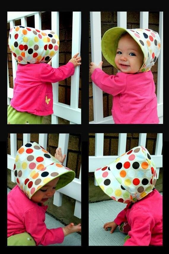 Sun Bonnet / Hat Sewing Pattern