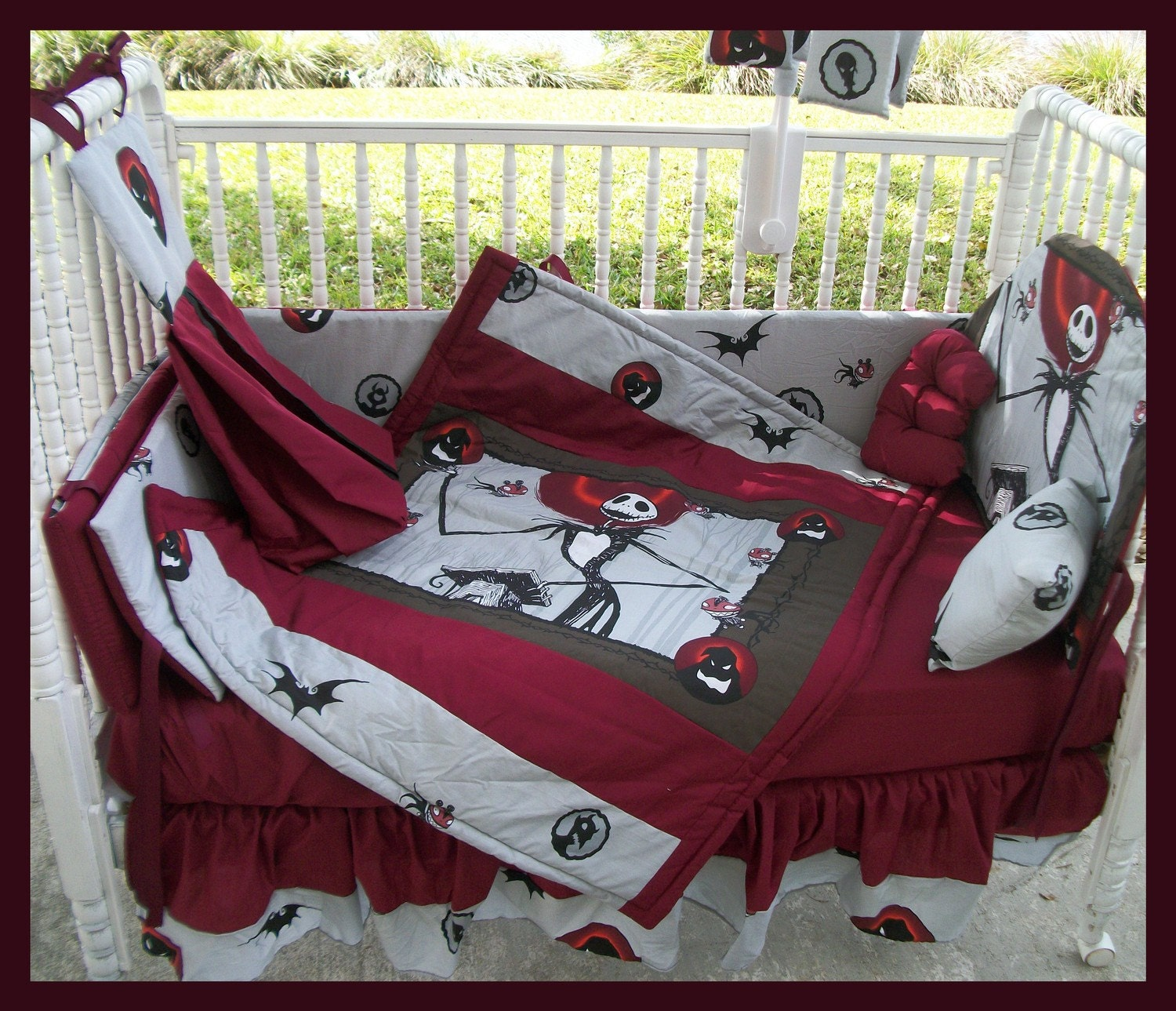 ... order New NIGHTMARE BEFORE CHRISTMAS Crib Bedding Set with Jack Zero