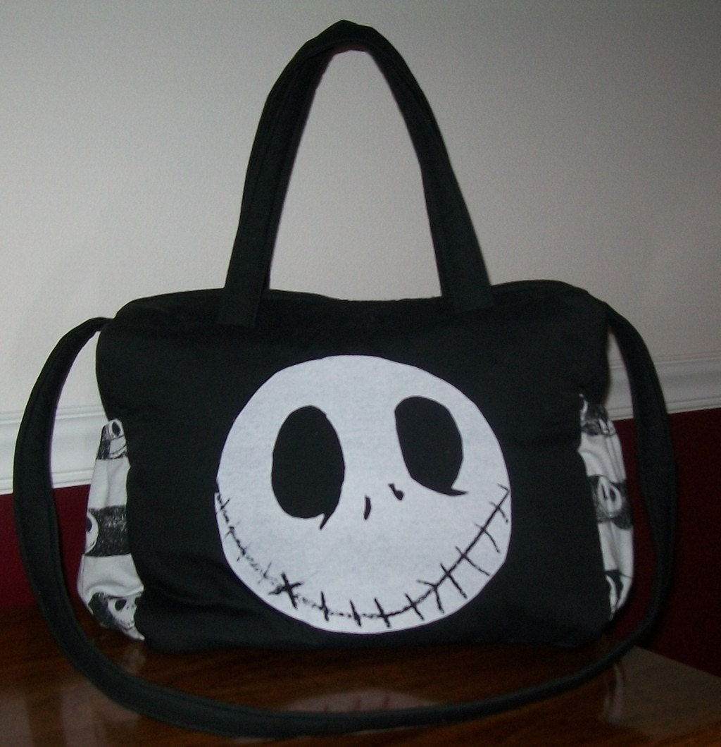 New Nightmare Before Christmas Jack Diaper Bag A One Of A Kind
