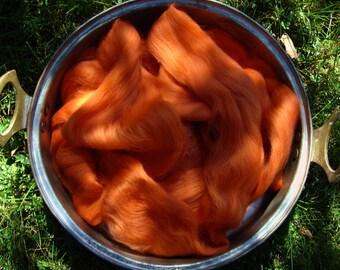 Ashland Bay Pumpkin Merino 64s Chosse 1, 2 or 4 oz