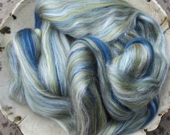 Del Mar Merino Tussah Silk Blend Ashland Bay Lux Roving
