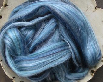 Bay Breeze Merino Tussah Silk Blend Ashland Bay Lux Roving