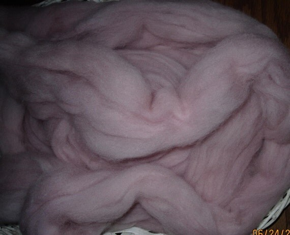 Ashes Of Roses Longwool Top Spinning and Felting