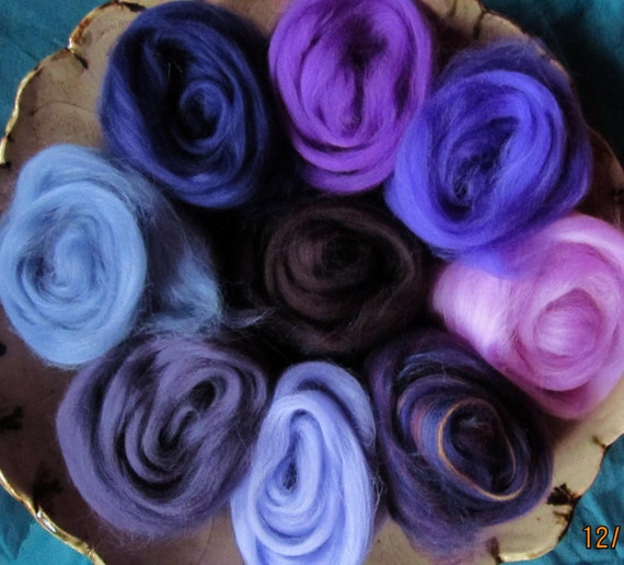 Purples Expanded Collection Ashland Bay Merino 64s