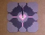 Companion Cube Clock